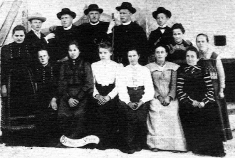 Gledališka skupina|Theatergruppe 1935