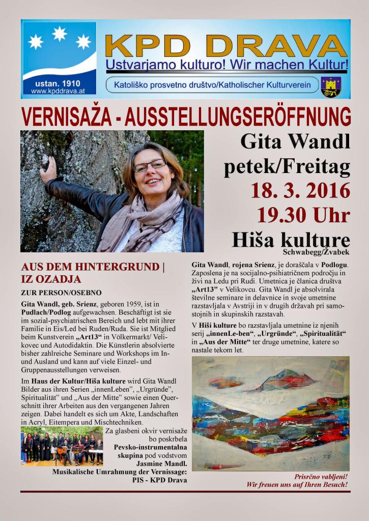 Gita wandl Einl.18.3.2016